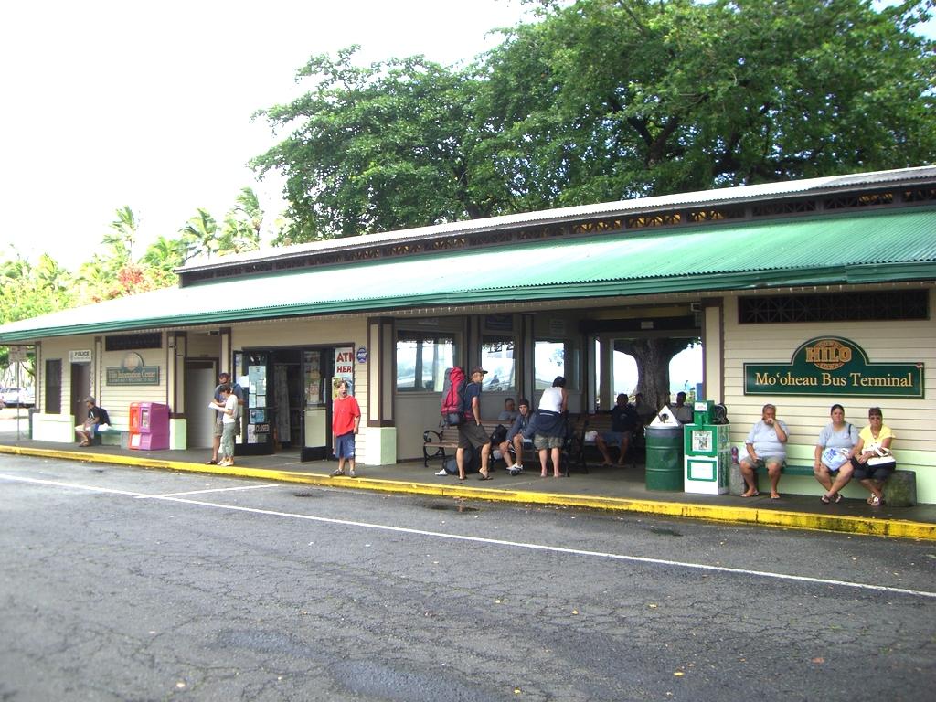 Hilo Mo'oheau Bus Terminal