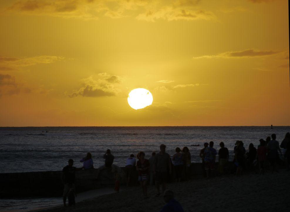Dusk Waikiki