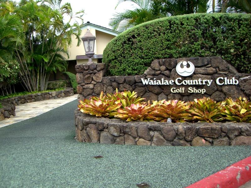 入り口はハワイにしてはこじんまりしています