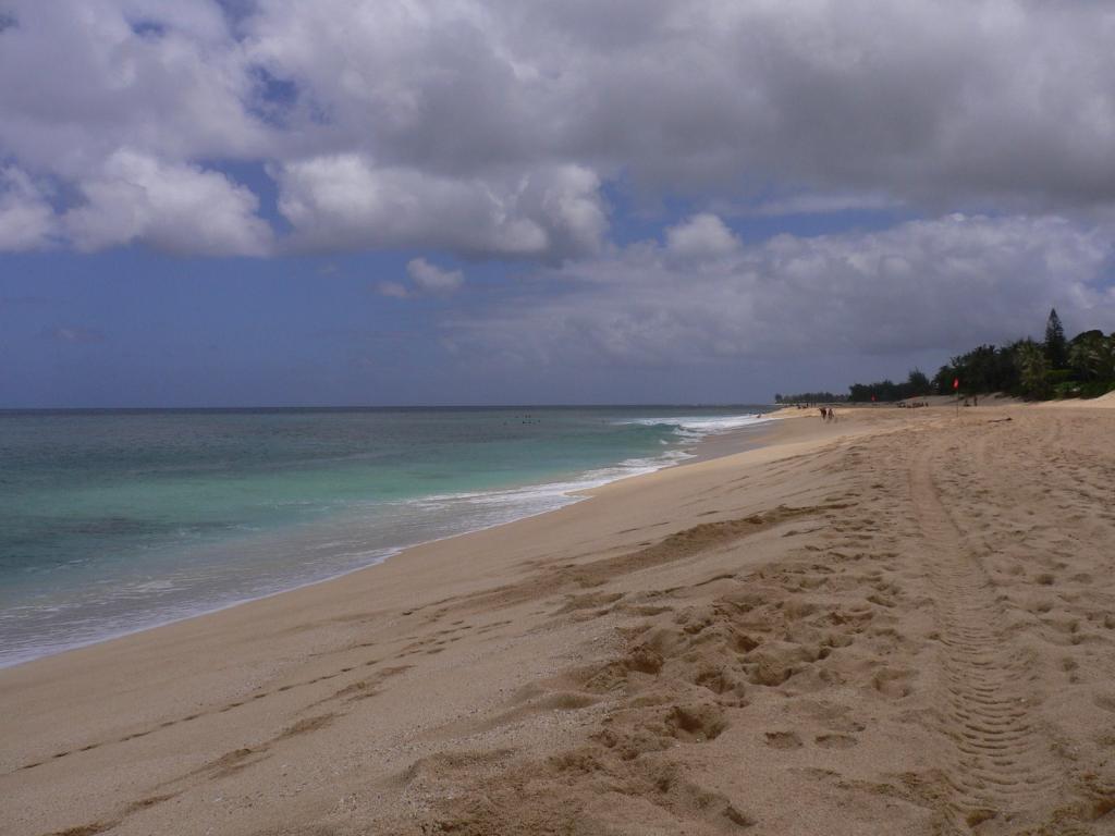 プライベートビーチみたい!