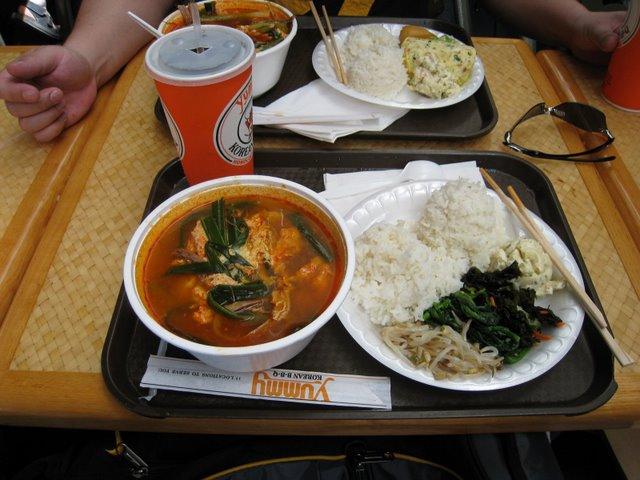 韓国風チゲ豆腐