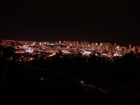 ワイキキの夜景 2