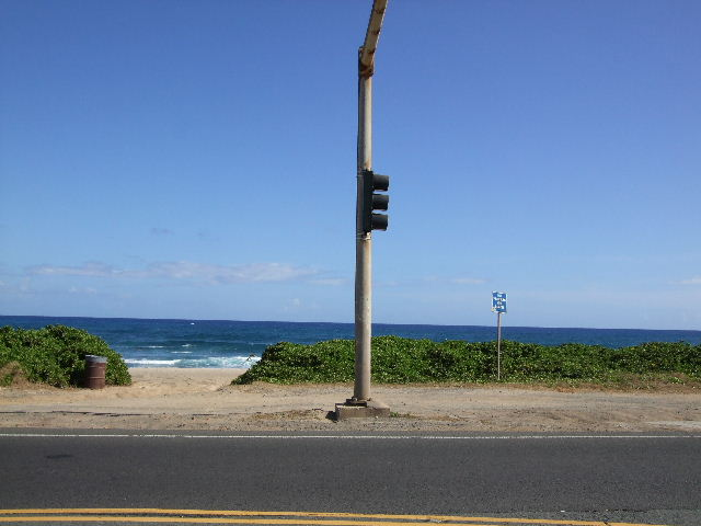 サンデ-ビーチ前