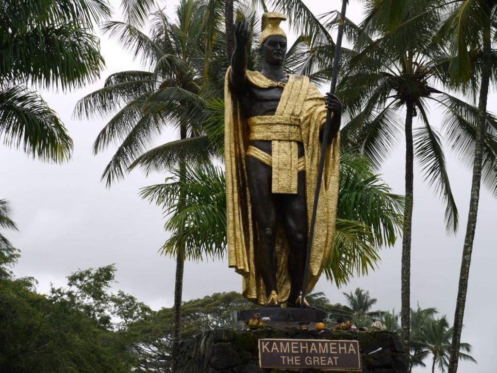 Kamehameha Stature