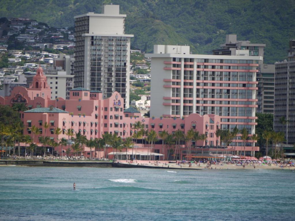 Royal Hawaian view from sea