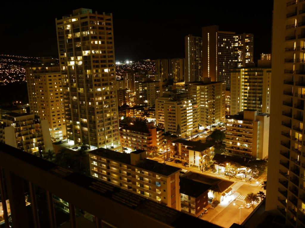 Night of Waikiki hotels