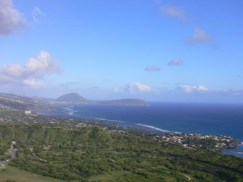 ハワイ海  (ダイアモンド展望)
