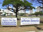 Jefferson Elementary...