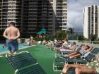 Waikiki Banyan pool ...